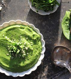 Raw spinach avocado soup recipe