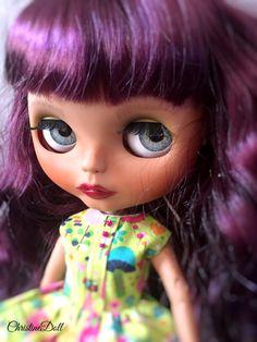Custom blythe doll Amanda by ChristineshopEspana on Etsy