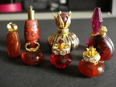 Beads and Jewelry Findings as Dollhouse Accessories - The Beading Gem's Journal