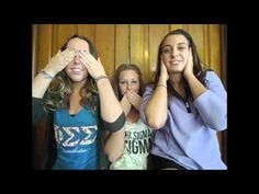 Phi Sigma Sigma Fall Recruitment 2012 - YouTube