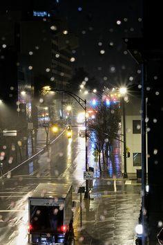 Rain in downtown Winston Salen