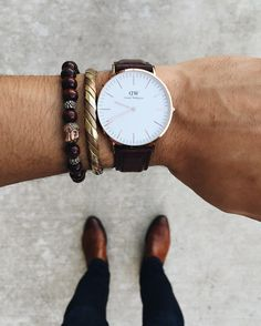 Daniel Wellington watches for him. Use code PRETTYANDFUN15 for 15% off, even their Black Friday & Cyber Monday sales!