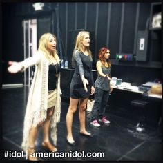 Elise catches Shannon up on the finale choreography she missed while she was in school. #idol