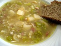 Swiss Gerstensuppe (Barley soup) (1) From: Nibble Dish, please visit