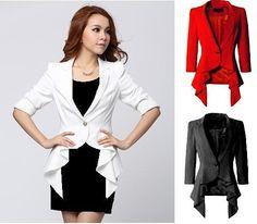 model blazer terbaru Vest Coat, Cape, Blazer, Jackets, Women, Fashion, Mantle, Down Jackets, Moda