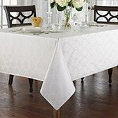 Waterford for Bloomingdale's  Highgate Table Linens -- in platinum