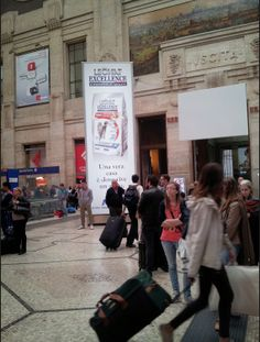 Gigatotem Monge - Milan Central Station april 2014