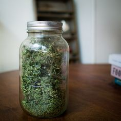 A Trick for Storing Dried Thyme