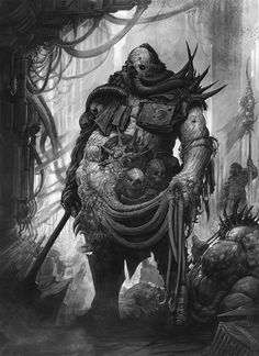Nurgle Champion by AlexBoca on deviantART