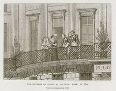 The emperor of Russia at the Pulteney hotel 1814. The grand hotel on Piccadilly was acquired in 1821 by