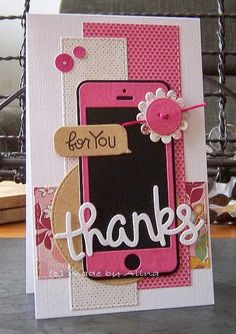 made by Alina: Thanks and Hello