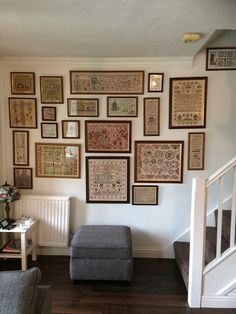 To Thine own Self be True? Cross Stitch Samplers, Cross Stitching, Cross Stitch Embroidery, Cross Stitch Patterns, Country Sampler, Cross Stitch Finishing, Home Hacks, Plates On Wall, Decoration