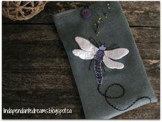 lindapendante dreams: Dragonfly Tablet Sleeve