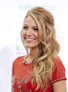 Clearly I want Blake Lively's hair