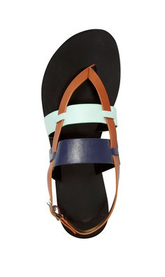 You'll be a true-blue fan of these perfect running-around thongs. Sandals, $49; restrictedshoes.com. - Redbook.com