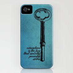Education Key. iPhone Case