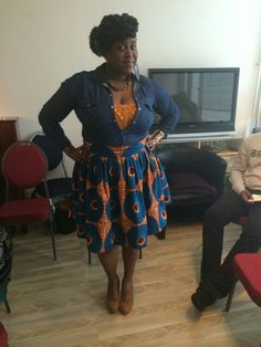 Me in another abenama designs. Just love it!
