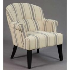"31"" Linen Upholstered Accent Chair"