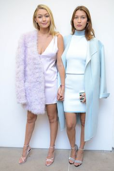 The Best (of the Best) Red Carpet Looks of 2014 - Gigi Hadid and Bella Hadid