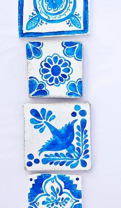 Azulejos hechos a mano DIY