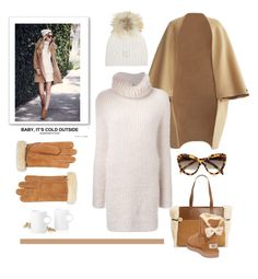 """Baby It's Cold Outside"" by conch-lady ❤ liked on Polyvore featuring UGG Australia, Fendi, M. Miller, Stelton and Prada"