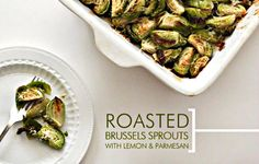Roasted Brussels sprouts with lemon and Parmesan - CSMonitor.com