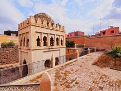 size: Photographic Print: Almoravid Koubba in Marrakesh, Morocco by Karol Kozlowski : Morocco Hotel, Morocco Beach, Visit Morocco, Marrakech Morocco, Marrakesh, Abandoned Castles, Abandoned Places, Abandoned Mansions, Travel Competitions