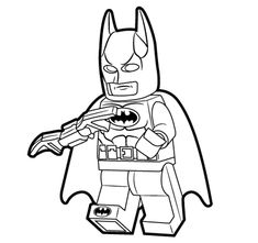 Lego Coloring Sheets For Free Super Heroes