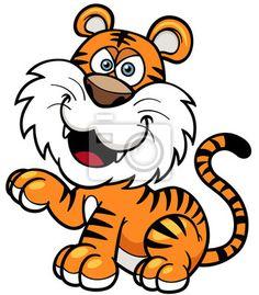 Výsledek obrázku pro tygr kreslený