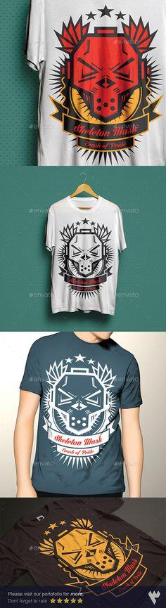 Skeleton Mask T-Shirt