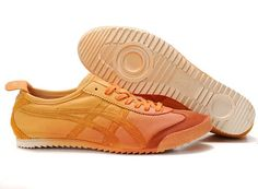 Onitsuka Tiger Mexico 66 Deluxe Nippon Made Orange Shoes