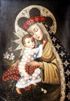 """""""We find ourselves in this earth as in a tempestuous sea, in a desert, in a vale of tears. Now then, Mary is the Star of the Sea, the solace of our desert, the light that guides us towards heaven."""" — St. John Bosco"""