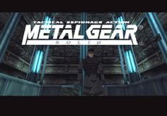 Metal Gear Solid on the PlayStation. Classic!