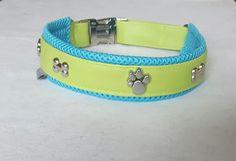 Halsband aus Kunstleder für Mops & Co.