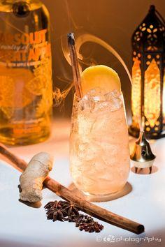 Orient Apple Experience cóctel creado por Javier Caballero, podréis ver la recta en el blog #cocteleriaevolutiva