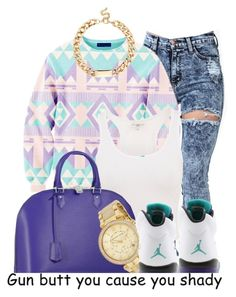 """""""2.16.14"""" by major-d ❤ liked on Polyvore featuring Louis Vuitton, Michael Kors and Red Herring"""