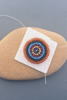 Information on the materials you need to get started with bead embroidery including foundation material, lining, backing, needles, thread and beads. Bead Embroidery Tutorial, Bead Embroidery Patterns, Beading Patterns, Embroidery Stitches, Pearl Embroidery, Bead Embroidery Jewelry, Beaded Jewelry, Jewellery, Embroidery Materials