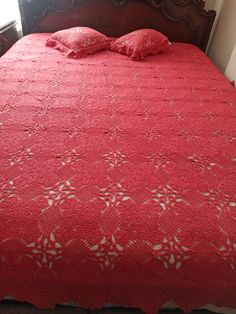 Crochet Bedspread Pattern, Bed Spreads, Shag Rug, Furniture, Home Decor, Shaggy Rug, Decoration Home, Room Decor, Home Furnishings