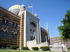 """The Tripoli Mosque, an architectural replica of India's Taj Mahal, is home to the Tripoli Shrine Temple and the headquarters of all Shriner activities in Milwaukee and Wisconsin. Completed in 1928, it is on the National Register of Historic Places and one of Milwaukee's most unique landmarks."""