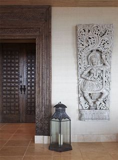 modern global style - entrance hall