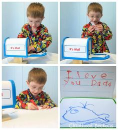 Teaching children the value of writing letters
