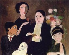 Marie Laurencin hung out with Picasso and Georges Braque, was muse and mistress to Apollinaire, and early in her career was cons. Maurice Utrillo, Georges Braque, World Images, Art Moderne, Musa, Illustrations, French Art, Pablo Picasso, Great Artists
