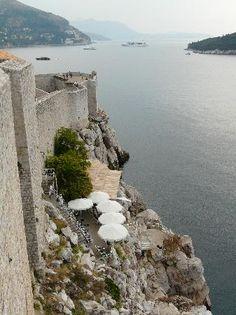 Bar Buza in Dubrovnik Croatia