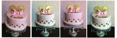 Minnie Mouse Cake Theme by Bake Dreams