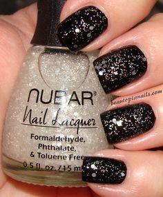 black w/sparkles