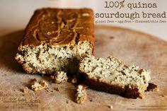 100% quinoa flour sourdough bread, gluten free, recipe here: https://www.facebook.com/photo.php?fbid=587060591354620&set=a.405384189522262.97578.123763421017675&type=1&theater