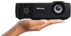 InFocus IN1118HD Mini-DLP Projector - Front View