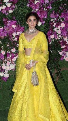 Divya Reddy at Lakmé Fashion Week Winter/Festive 2017 l Vogue India Indian Bridal Lehenga, Indian Bridal Outfits, Indian Bridal Wear, Pakistani Bridal, Pakistani Suits, Indian Gowns Dresses, Indian Fashion Dresses, Bridal Dresses, Party Dresses