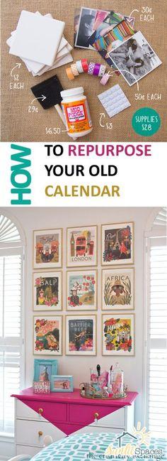 How to Repurpose Your Old Calendar  Repurpose, DIY Repurpose Projects, Repurpose Your Calendar, How to Repurpose An Old Calendar, Easy Repurpose, DIY Repurpose Projects, SImple Repurpose Projects, DIY Calendar, DIY Calendar Projects, Popular, Crafts, DIY Crafts #Repurpose #Crafts