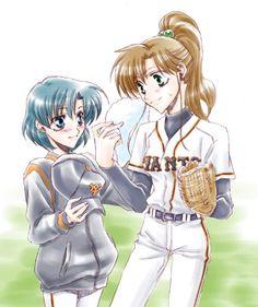 BASEBALL  Ami and Makoto
